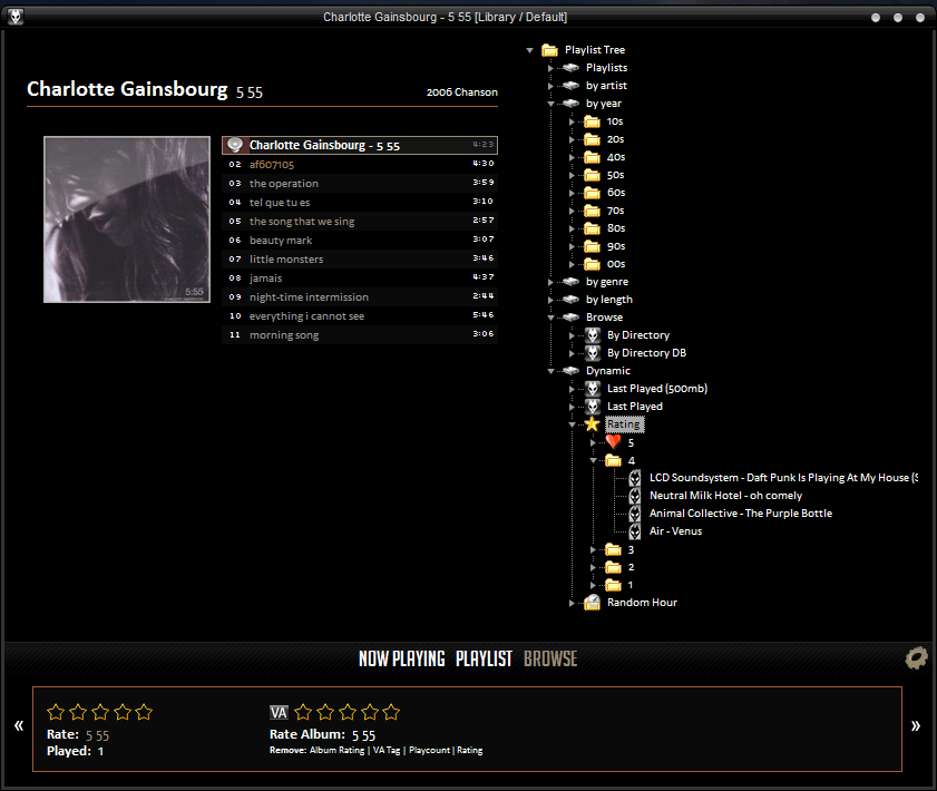 Foobar2000 Blog » Playlist Tree and the Art of the Query